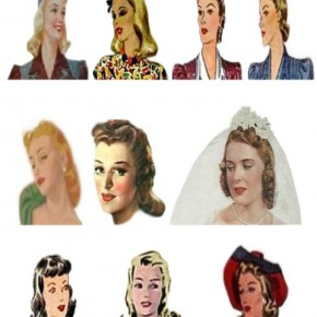 1940s fashion hairstyles, 1940