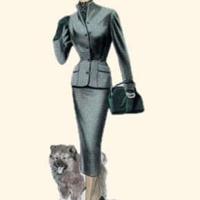1950s Fashion Trends, Pictures of 1950s Coats and Costume Suits