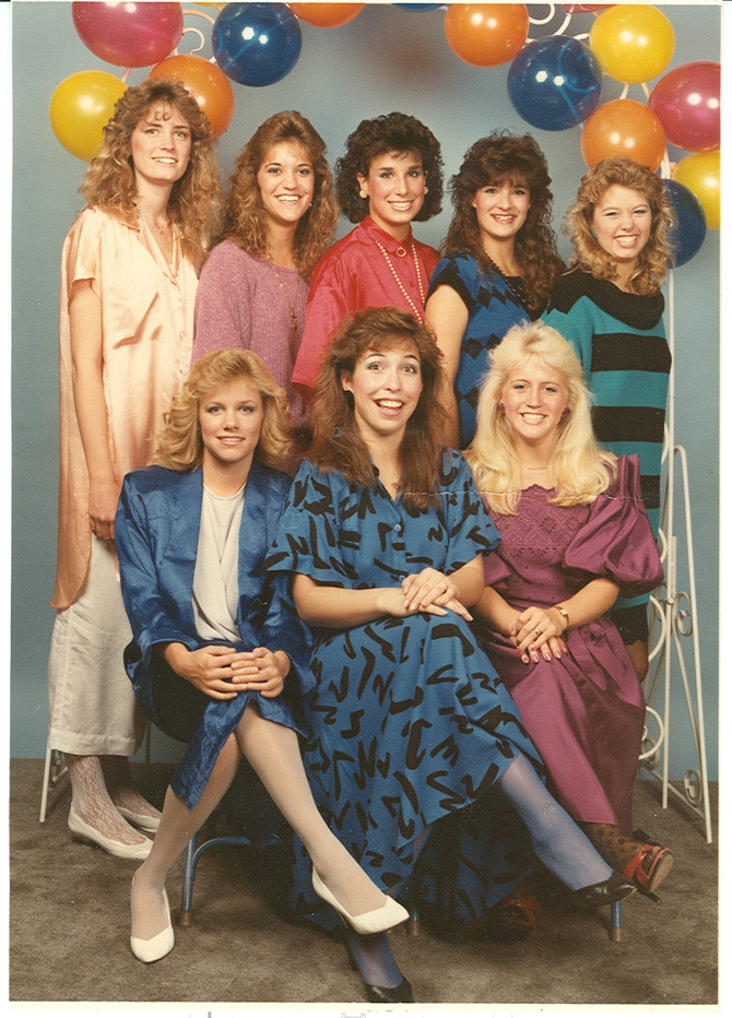 1980s skirts and hairstyles 1980s fashion trends 10 awesome 80s fashion pictures