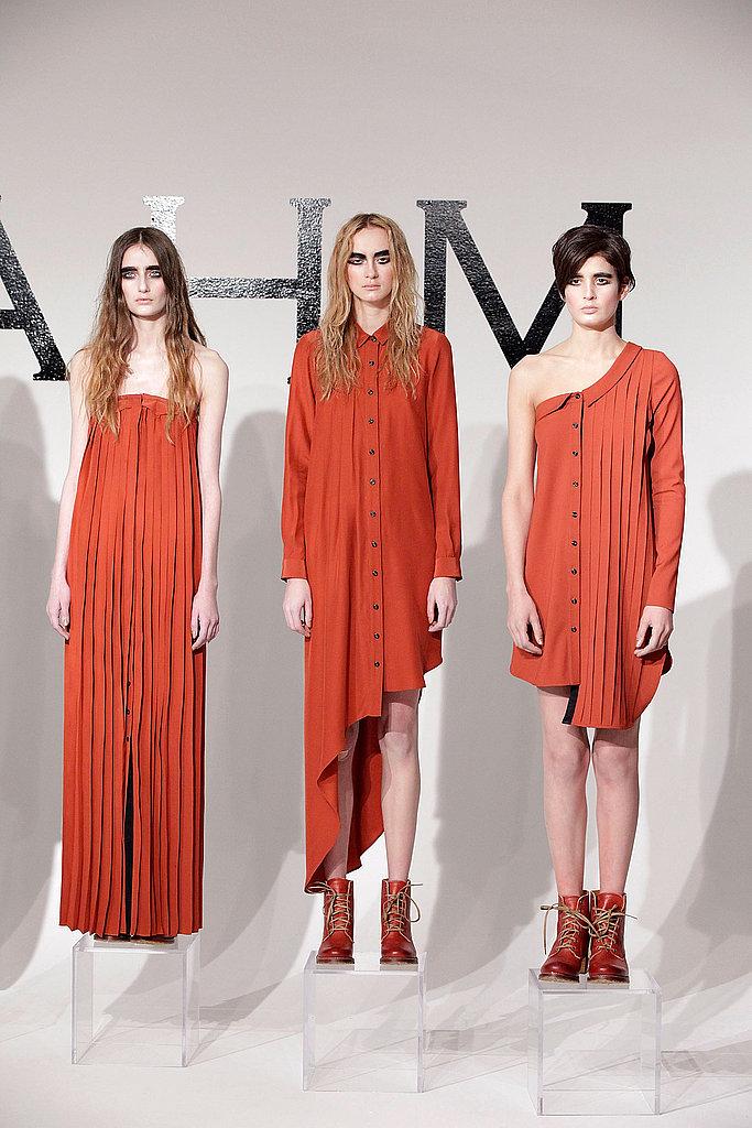 2011 Fall Fashion Trends Fall 2011 New York Fashion Week Nahm Fashion Gallery