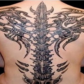Awesome 3d Tattoos For Men Gorgeous Black Blue Tribal Dragon