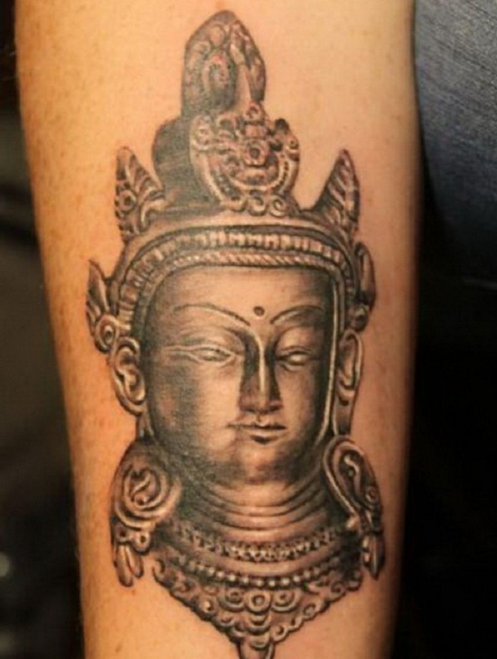 3D Buddhist Tattoo For Women Pictures