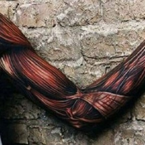 3D Full Sleeve Tattoo Ideas For Men Pictures