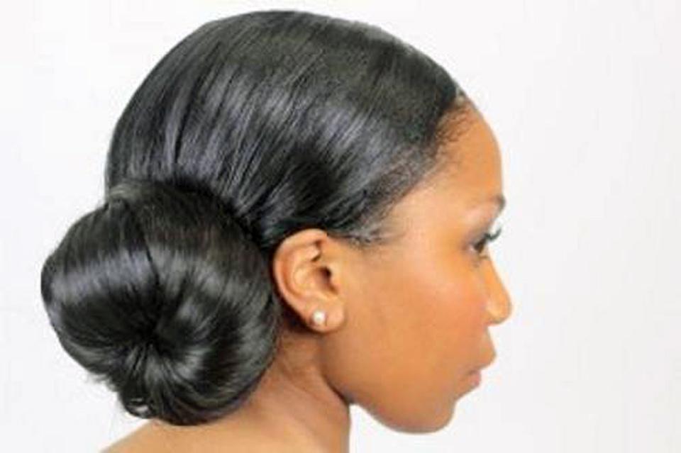 African American Bun Updo 2013