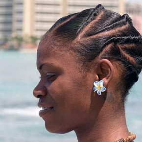 African American Bun Updo Ideas Pictures