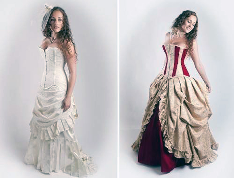 Alternative wedding dresses online for Alternative plus size wedding dresses