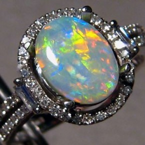 Amazing Opal Engagament Rings 2013 Pictures