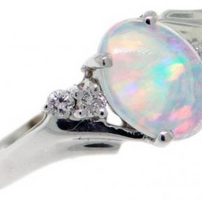 Amazing Opal Engagament Rings Concept Pictures