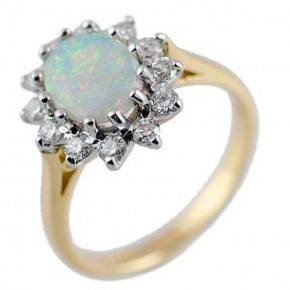 Amazing Opal Engagament Rings Ideas Pictures