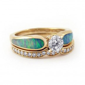 Amazing Opal Engagament Rings Style Pictures