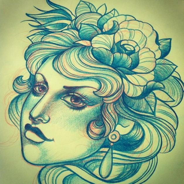 Annie Frenzel Best Tattoo Artists In Berlin Germany