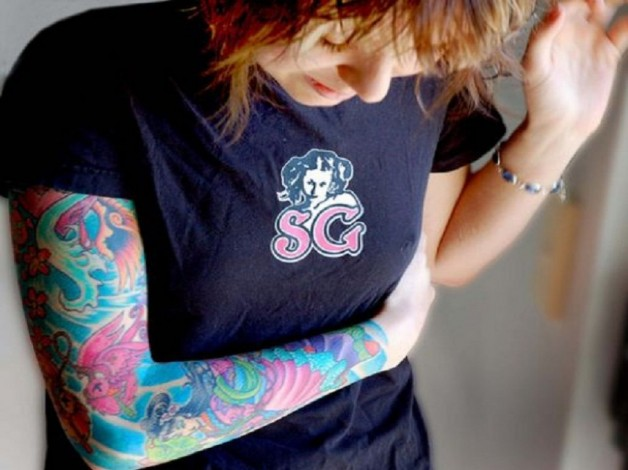 Arm Sleeve Fake Tattoo Women