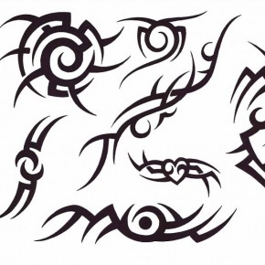 Artistic Tribal Tatto Stencil Designs Pictures
