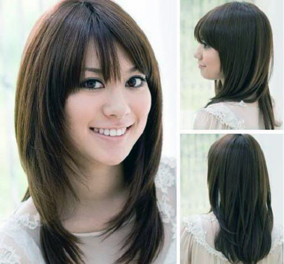 Asian Hairstyles Semi Long Hair Images Inofashionstyle Com