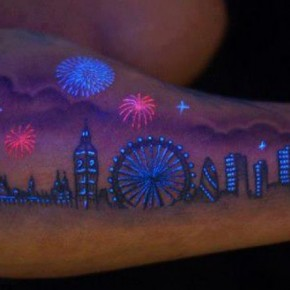 Awesome Uv Tattoo Growing Popularity Pictures
