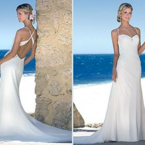 Backless Wedding Gown Designers Pictures