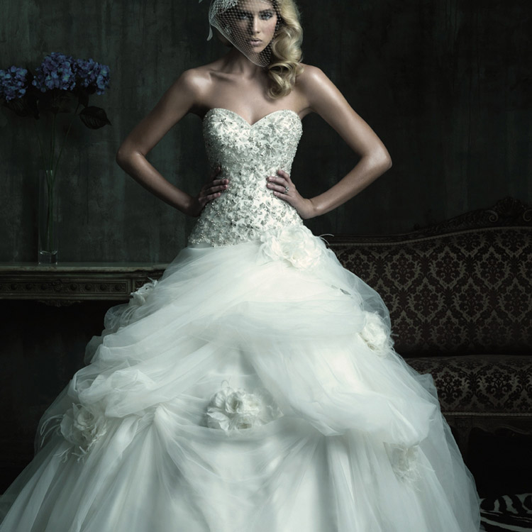 Ball gown wedding dresses beautiful and stylish princess for Cheap but beautiful wedding dresses