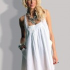 Beach Dress White 2013 Pictures