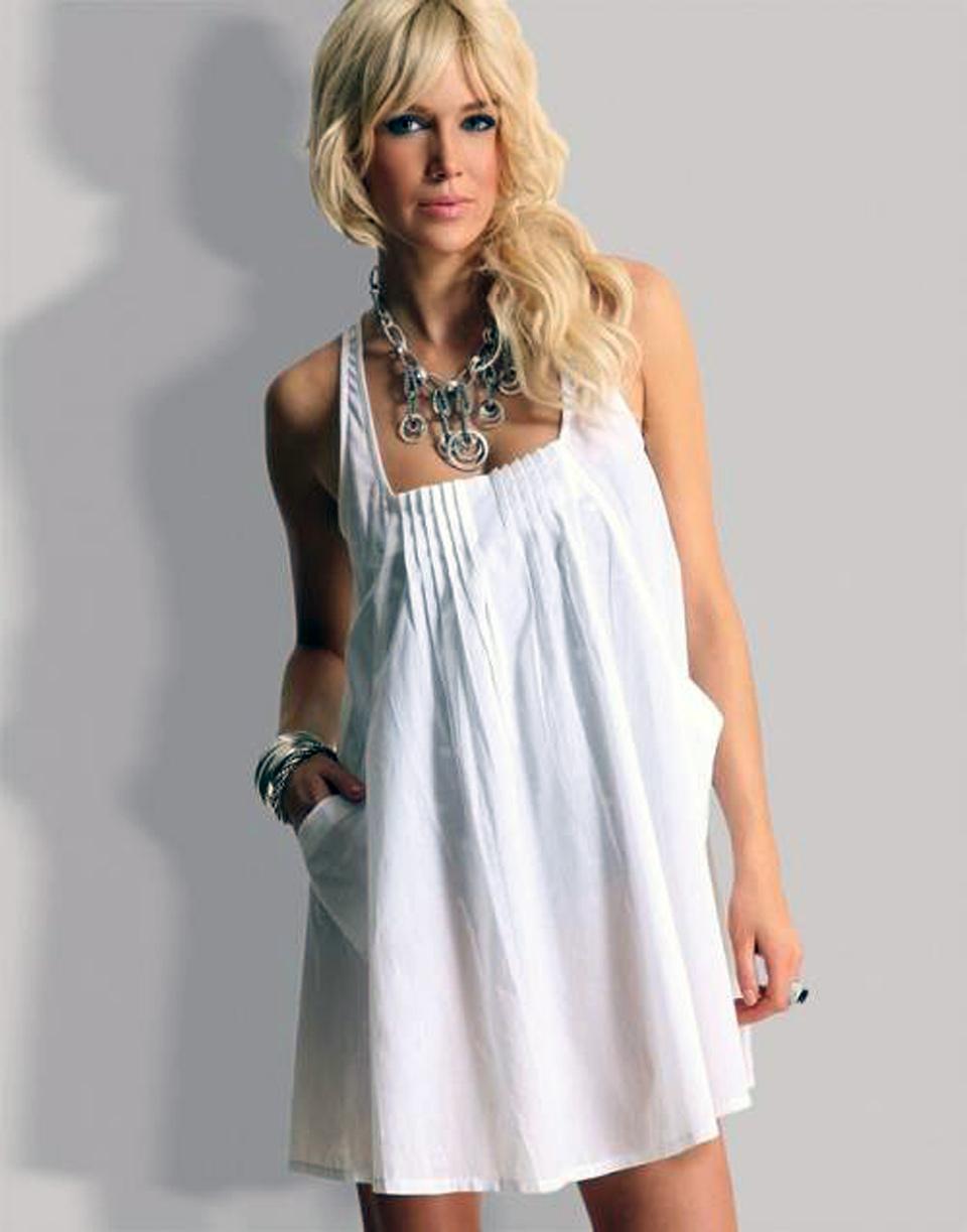 Beach Dress White 2013