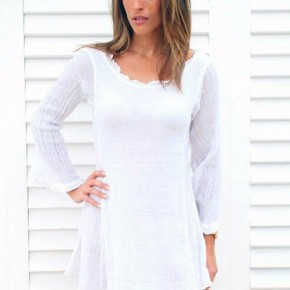 Beach Dress White Options Pictures