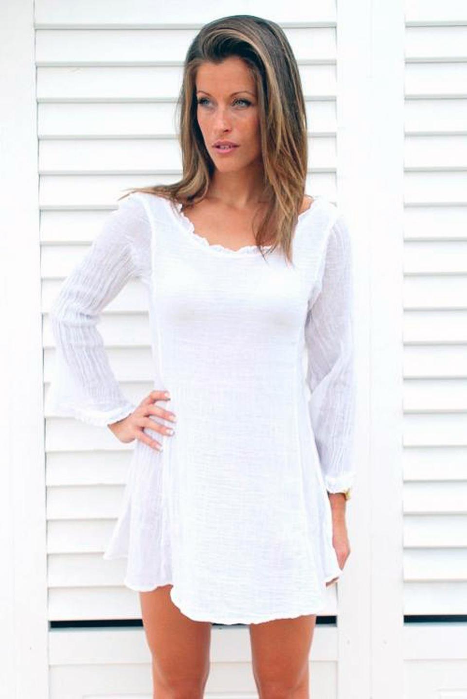Beach Dress White Options