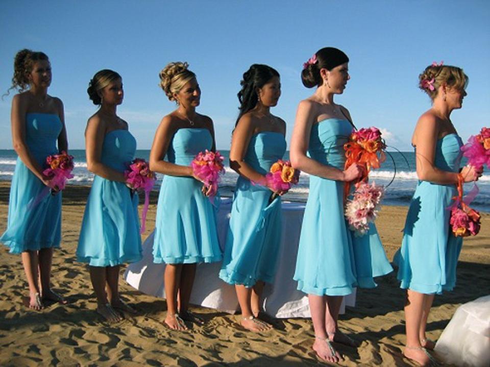 Beach Wedding Bridesmaid Dresses Ideas