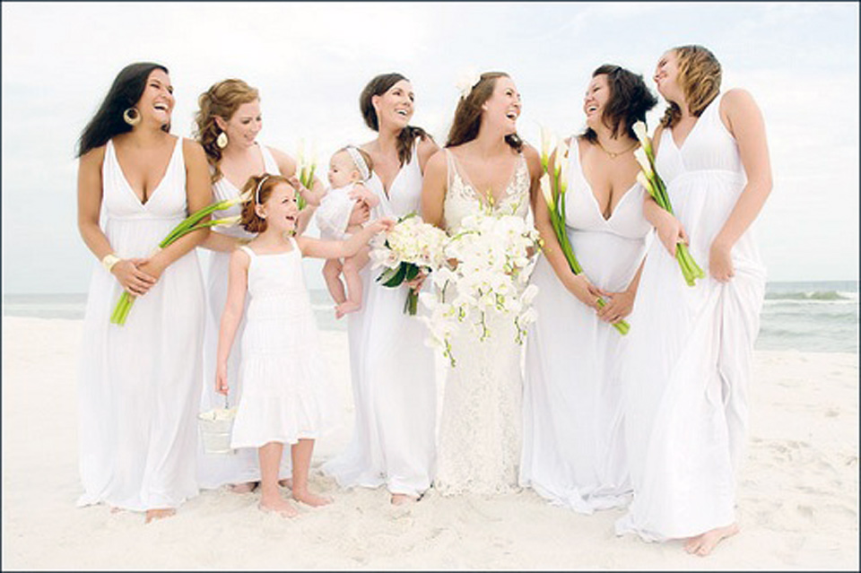 Beach Wedding Bridesmaid Dresses Best Pictures : Fashion