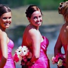 Beach Wedding Hairstyles Bridesmaid 2013 Pictures