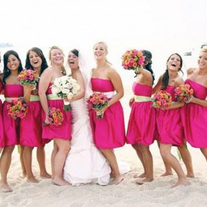 Beach Wedding Hairstyles Bridesmaid Images Pictures