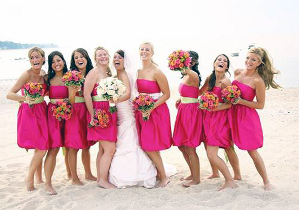 Beach Wedding Hairstyles Bridesmaid Images