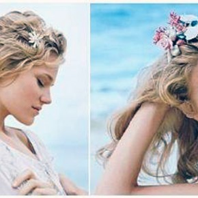 Beach Wedding Hairstyles Flowers Ideas Pictures