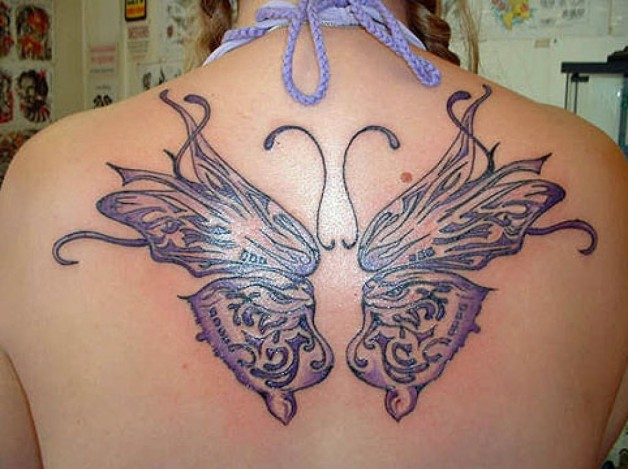 Beautiful Butterfly Pretty Tattoo Designs For Girls