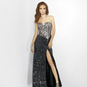 Beautiful Sparkly Prom Dresses Black Pictures