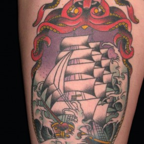 Big Ship Sailor Jerry Tattoo Pictures