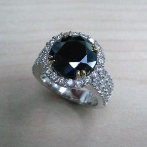 Black Diamond Rings For Men Pictures