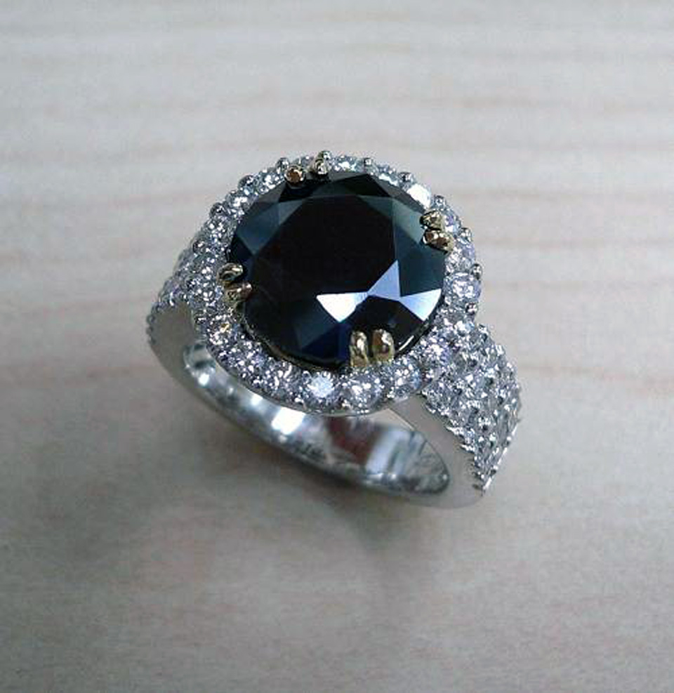 Black Diamond Rings For Men Inofashionstyle Com