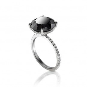 Black Diamond Rings For Women Pictures