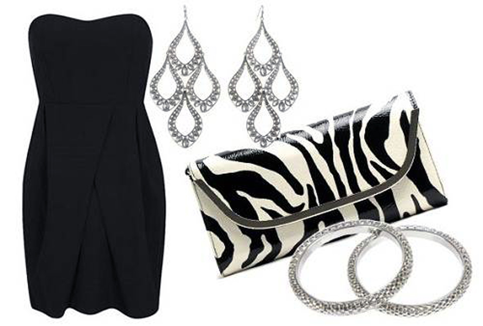 Black Dress Accessories 2013