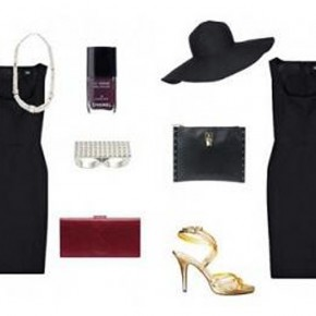 Black Dress Accessories Ideas Pictures