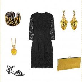 Black Dress Accessories Should Wear Pictures