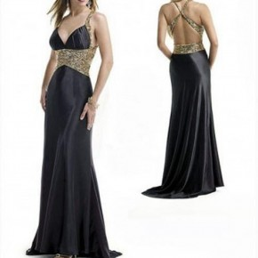 Black Evening Dresses 2013 Pictures