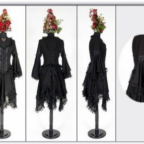 Black Gothic Dresses 2013 Pictures