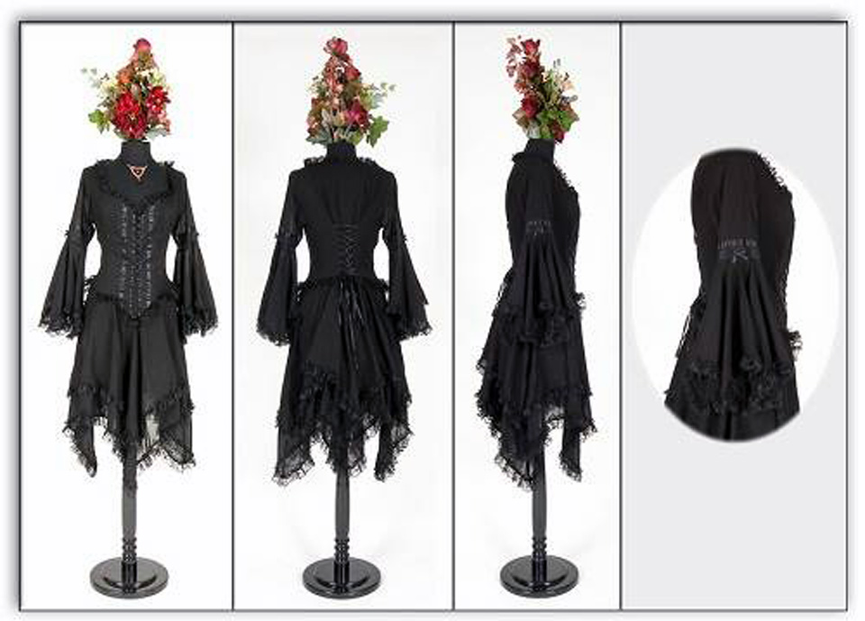 Black Gothic Dresses 2013