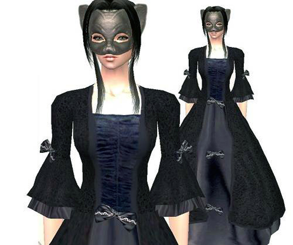 Black Gothic Dresses Styles
