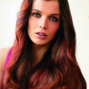 Black Hair With Red Highlights Best Pictures