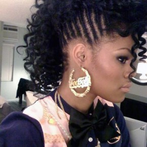 Black Hairstyle For Women Braids Pictures