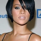 Black Hairstyle For Women With Round Faces Pictures