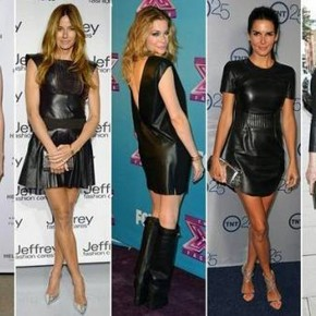 Black Leather Dress Outfits For Sale Pictures