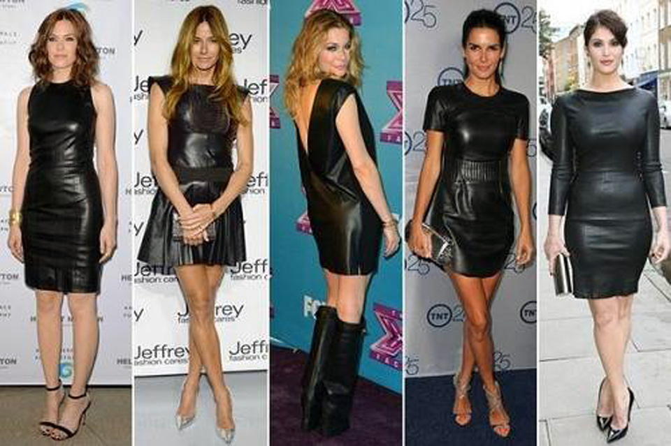 Black Leather Dress Outfits For Sale Inofashionstyle