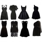 Black Puffy Short Dress Ideas Pictures